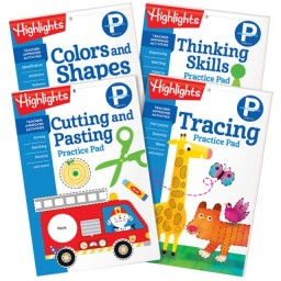 Preschool Learning Practice Pads